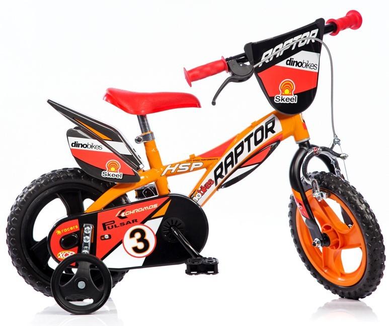 Raptor prvý detský bicykel pre chlapca