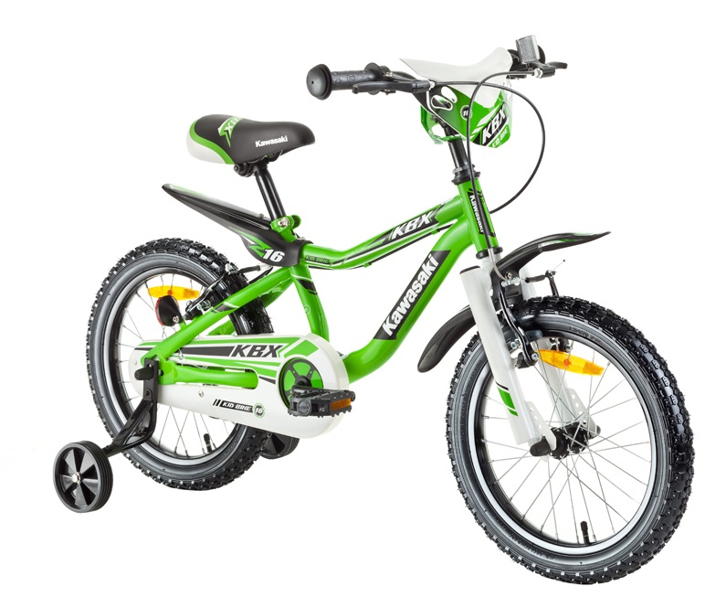 Chlapčenský detský bicykel 16 Kawasaki