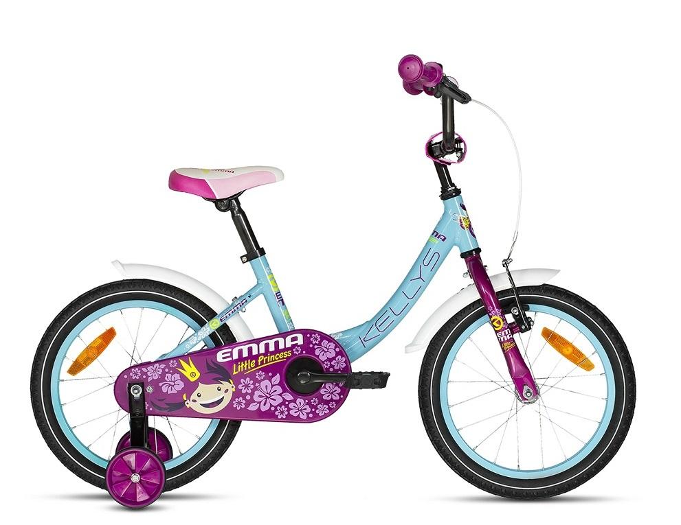 Kvalitný bicykel pre dievčatá Kellys Emma modrý