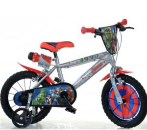 Super bicykel 16 pre malých pretekárov s licenciou Avengers