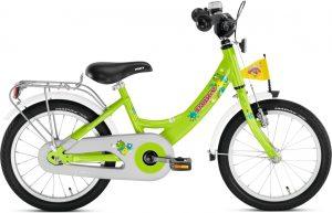 Kvalitný bicykel pre dievčatá 16 Puky