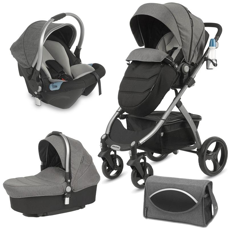 CASUALPLAY Set kočík pre novorodenca 3v1