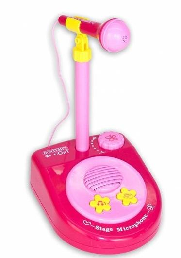 Vianočné hračky pre dievčatá - hudobný mikrofón